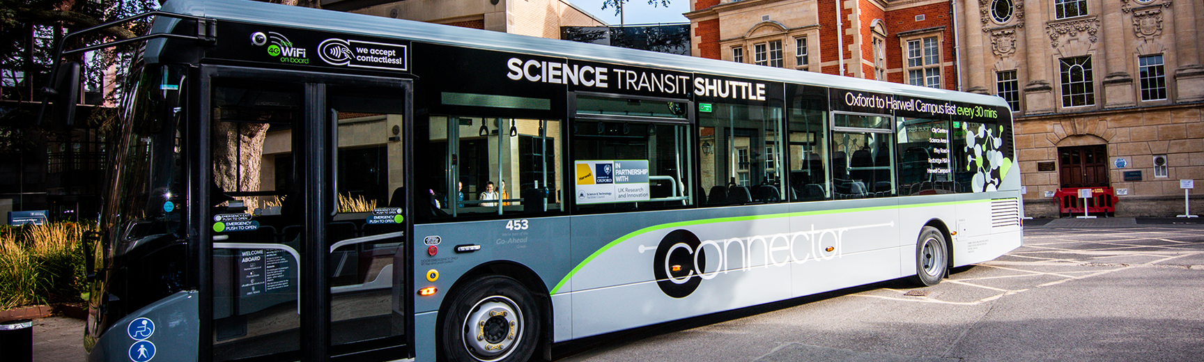 Image of science transit shuttle