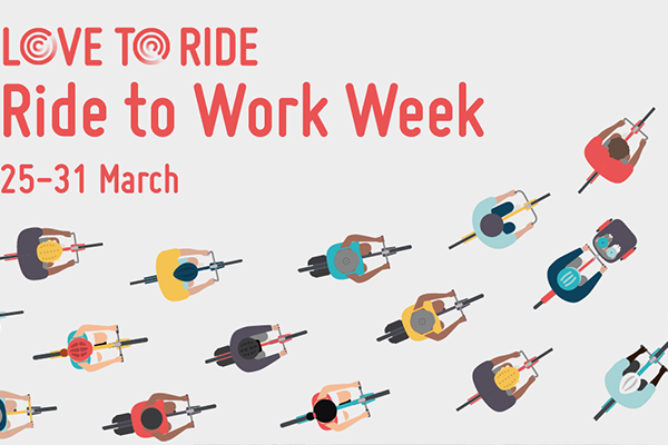 Image of branding by Love to ride - Ride to work week